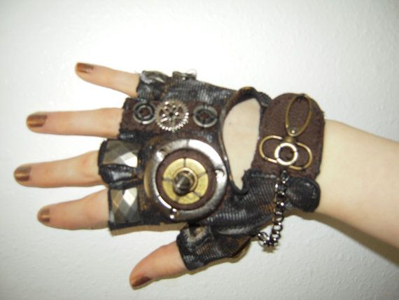 Moonhoar Monster Glove Mad Max Steampunk by moonhoar on Etsy