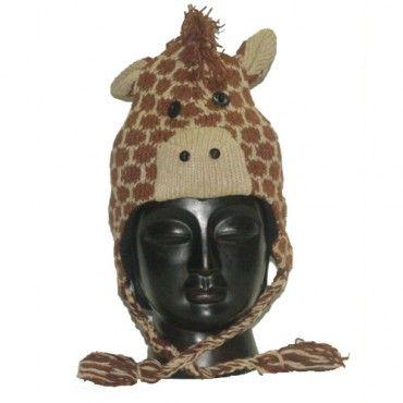 Cutes Giraffe Hat - LarryAdler Ski & Outdoor