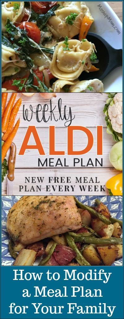 How to Modify a Meal Plan for Your Family: Making meal planning effective for your own family's needs, and how to make meal plans really work! http://www.mashupmom.com/modify-meal-plan-family/