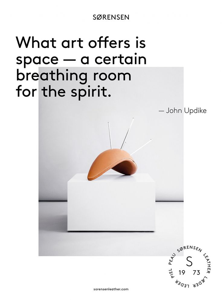 One of the many quotes we included in our award-winning Brand Book to inspire artists, architects, designers and other creatives. The Drop™ Chair by Arne Jacobsen / Fritz Hansen. Leather Elegance / Walnut. Creative Director: Jonas Bjerre-Poulsen / #NORMarchitects, Art Direction & Graphics: Emil Andersen / #StudioC. Senior Writer: Julie Ralphs. #creativecircle #fritz_hansen #arnejacobsen
