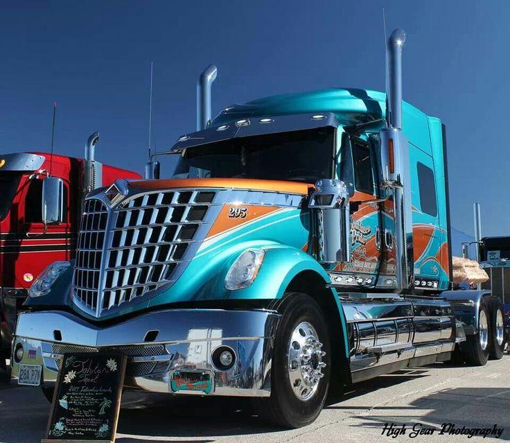 International lone star hot rigs pinterest rigs