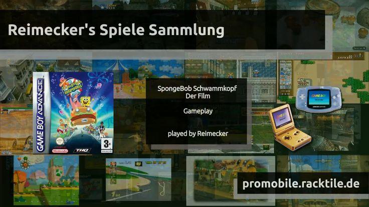 Gameplay : SpongeBob Schwammkopf - Der Film [GBA]