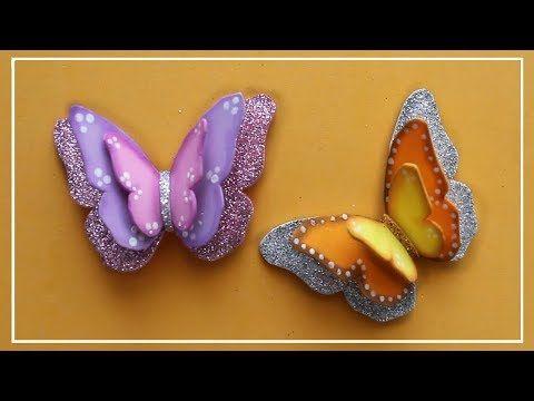 Mejores 1589 im genes de fofuchas en pinterest goma eva - Como hacer mariposas de goma eva ...