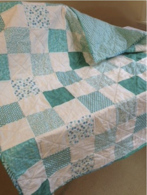 Simple-5 inch squares quilt for my neice Quilt Patterns/Blocks Pinterest Square quilt ...