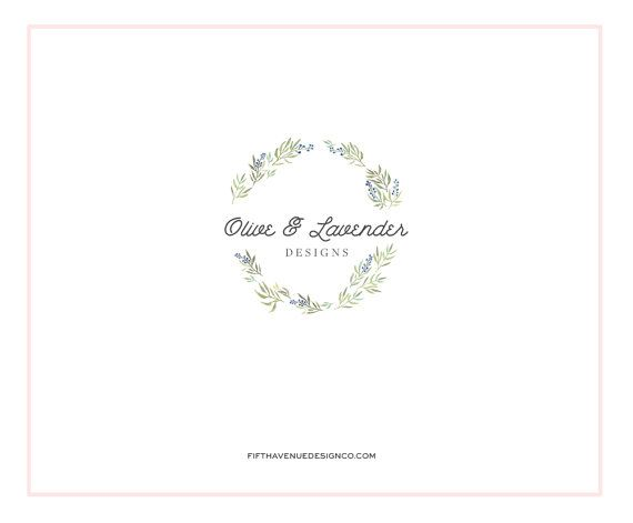 Pre Made Logo Design  Boutique Logo  Small by FifthAvenueDesignCo