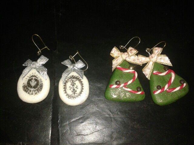 X-mas earrings