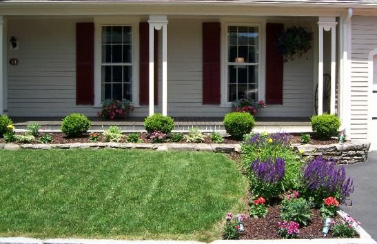 Ideas For Front Yard Garden 23 landscaping ideas with photosthis site this experienced and extremely knowledgable gardener Landscaping Ideas For Front Yard Awesome Front Yard Gardens Design To Transform Bland Area Into Landscaping Pinterest Yard Landscaping And