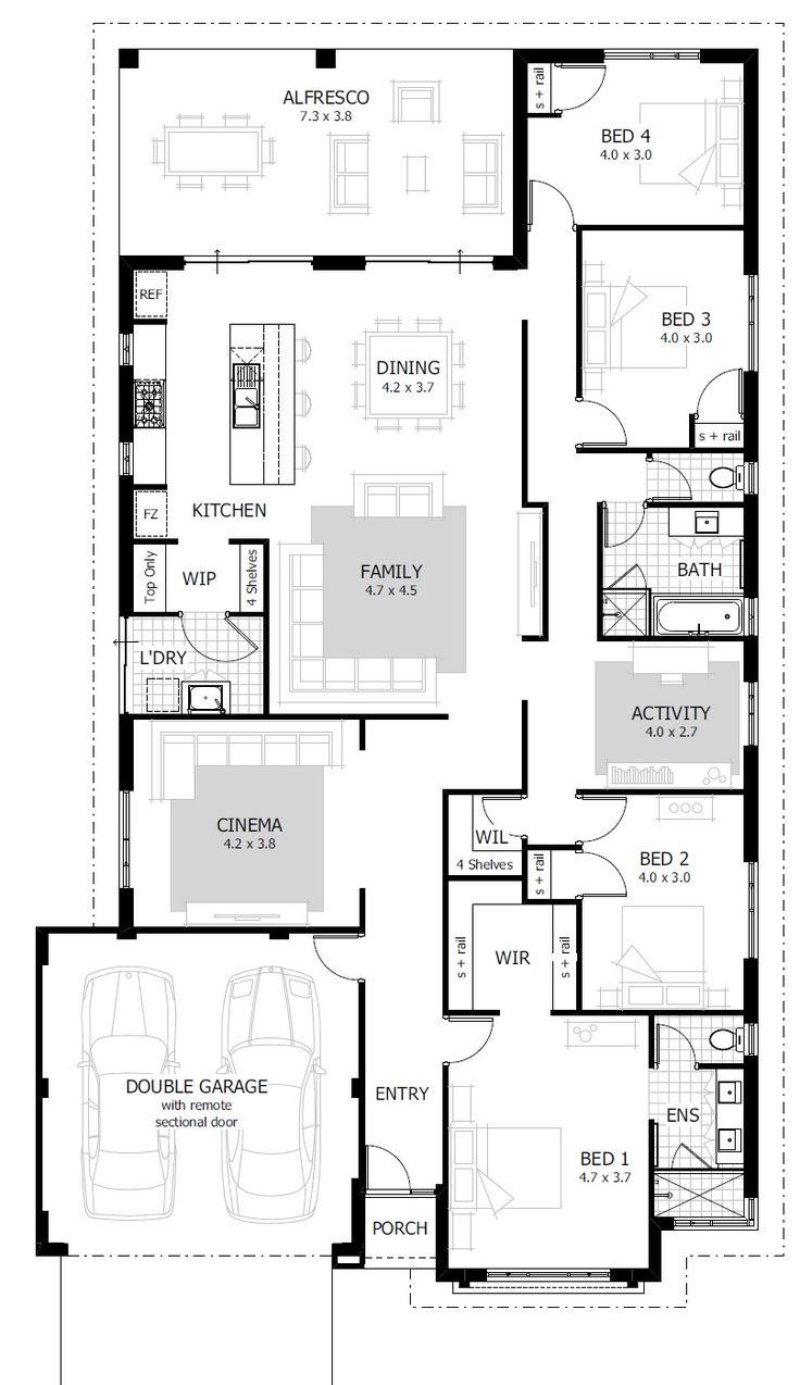 34 best images about display floorplans on pinterest for Semi attached house plans