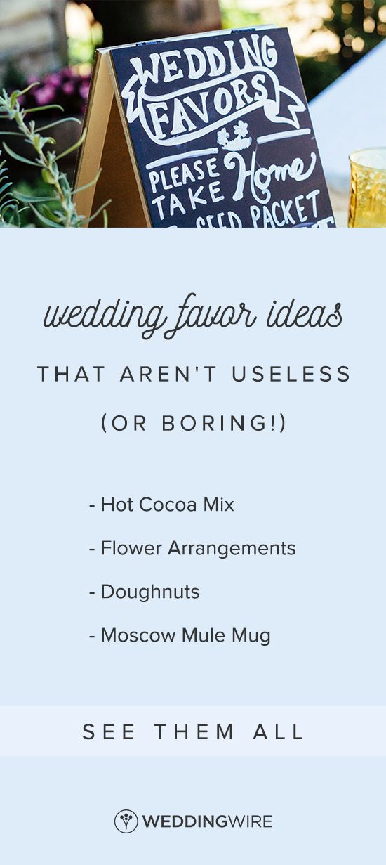 Wedding Favor Ideas That Aren't Useless (or Boring!)  - Looking for creative #weddingfavors that your guests will actually use? From soaps to blankets, check out our favorite ideas on WeddingWire! {Diana Ascarrunz Photography}