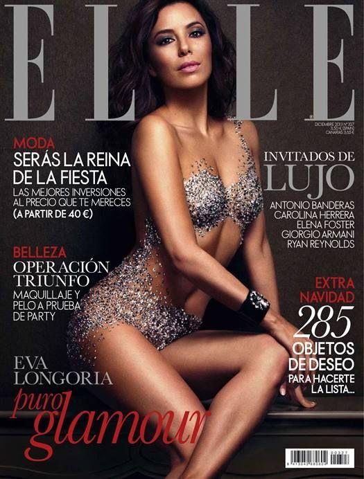 Eva Longoria (2013.12. Elle)