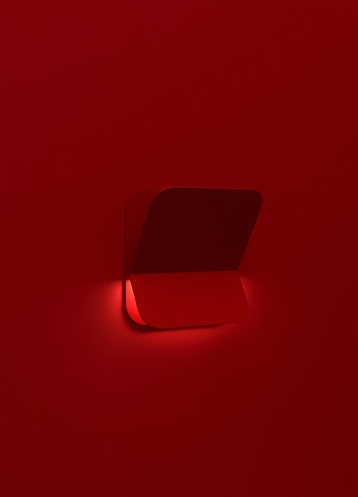 Week of November 6, 2017 - Huskdesignblog, Design Discoveries | Maxim Maximov | Asketik Collection | Russian designer | wall sconce | wall lamp | red lamp | red sconce | red metal wall lamp | monochromatic set design | red scenography | lamp-shelve | metal lighting collection | metal furniture collection | new collection 2017 | minimalist design | minimalist design furniture | red furniture | red lighting