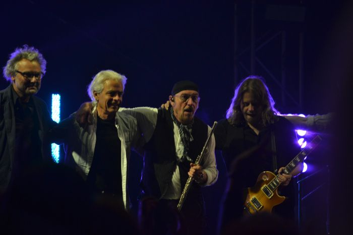 Despedida de Jethro Tull  en el BBK Music Legends Fest 2016