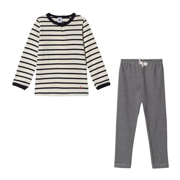 Petit Bateau Striped Pyjamas (47 AUD) ❤ liked on Polyvore featuring intimates, sleepwear, pajamas, petit bateau pajamas, striped pyjamas, striped pajamas, petit bateau and striped pjs