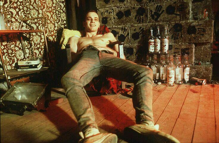 Ewan McGregor stars as Mark Renton in 'Trainspotting' (1996)