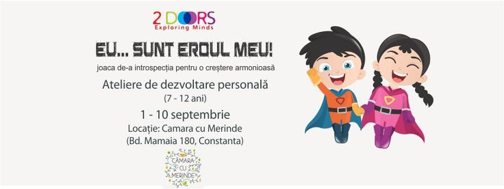 Program de dezvoltare personala pentru copii