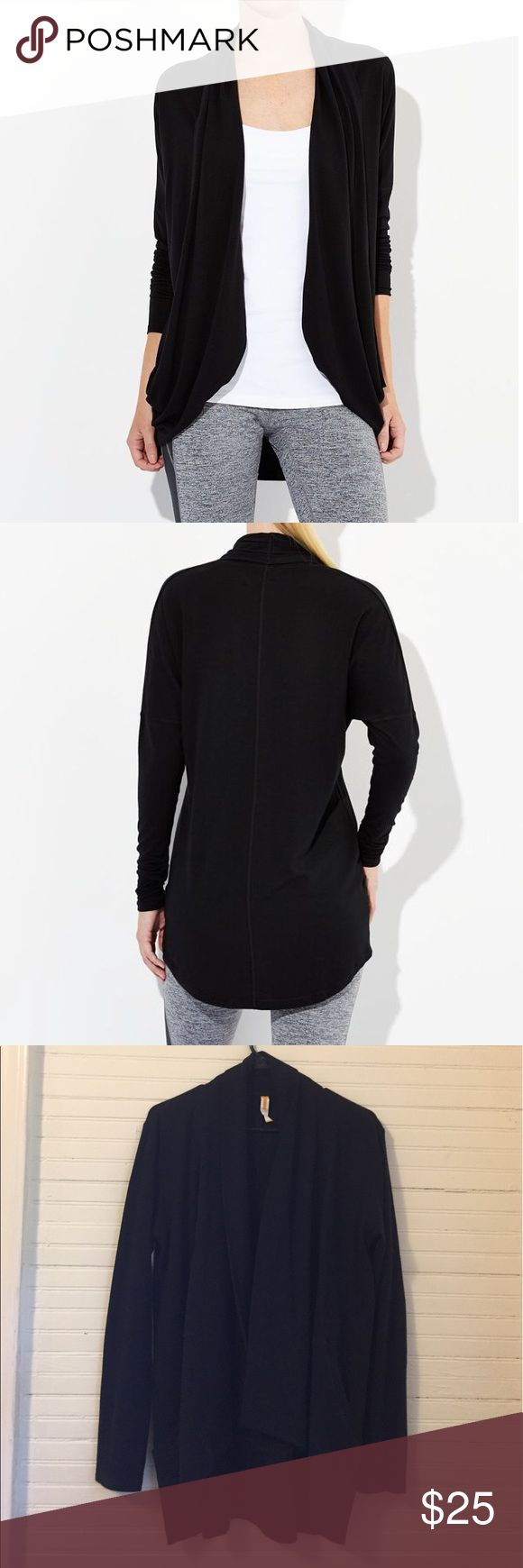 Lucy Athletic Brand Enlightening Wrap A soft, long overcoat for athletic wear! Large pockets are a huge plus. Like new condition. Lucy Jackets & Coats