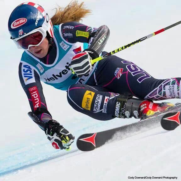 18-year-old Mikaela Shiffrin wins gold in the women's slalom!