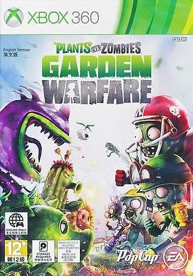 PLANTS VS ZOMBIES GARDEN WARFARE XBOX 360 GAME BRAND NEW & SEALED