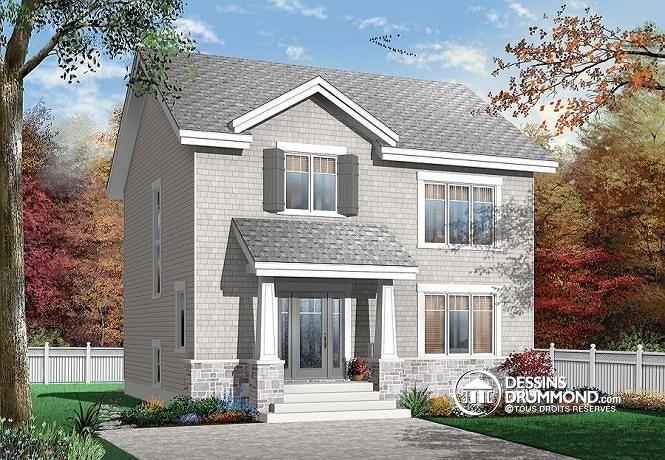 Plan de maison no. W2779 de dessinsdrummond.com