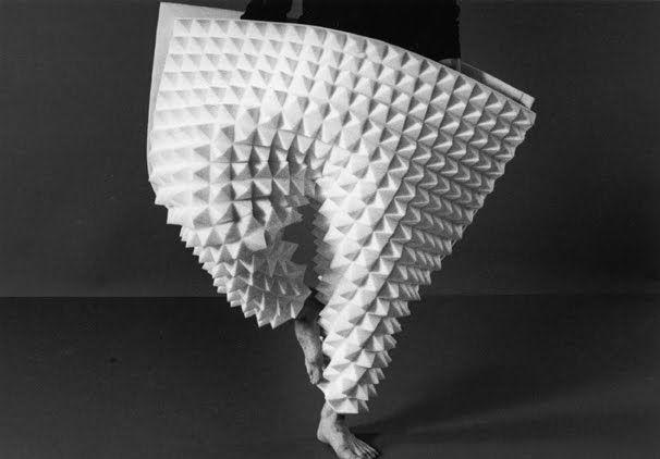 Maria Blaisse, Foam Costumes for Dance