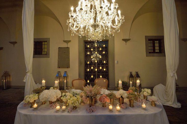 LOVE TABLE in the Court of Villa il Garofalo