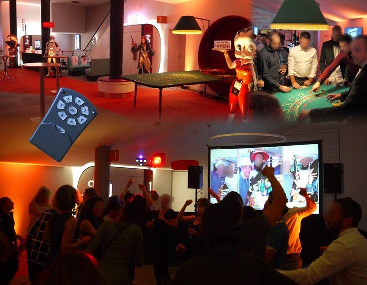 Belle soirée très animée pour fêter le 5éme anniversaire d'un célèbre site de vente en ligne. À cette occasion, nous avons assuré la mise en lumière, créé un quiz sur mesure et transformé le hall du Gaumont Wilson en salle de casino (factice bien sûr) suivit d'un dance floor. #entreprise #casino #evenementiel #animation #quiz #dj #soirée