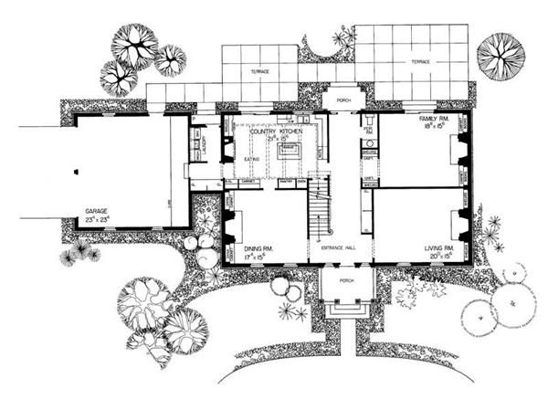 58 best floor plans images on pinterest floor plans for Georgian mansion floor plans