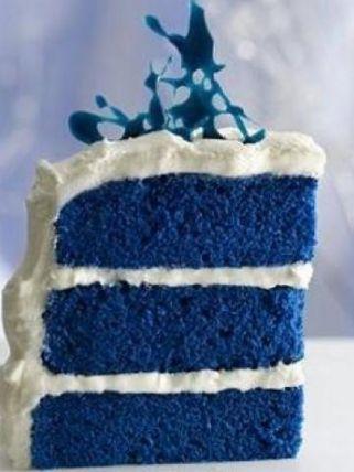 recipe: blue velvet cake #weddings #bluedream #niebieski https://www.facebook.com/hotel.niebieski