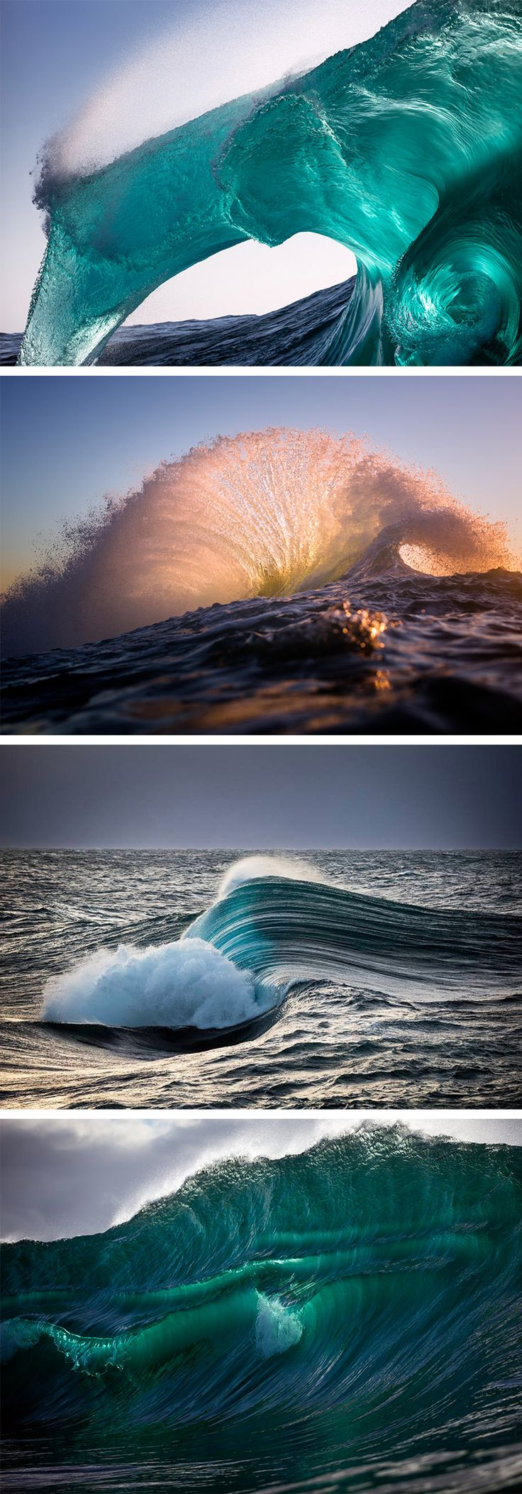 Best Waves Images On Pinterest Landscapes Nature And Water - Incredible photographs of crashing ocean waves by ben thouard