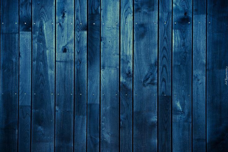 Tekstura, Niebieskie, Deski