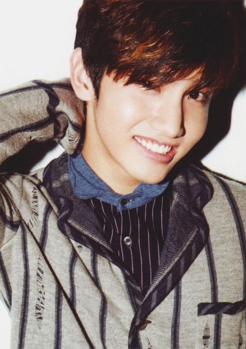 That smile. Ah~ makes me melting