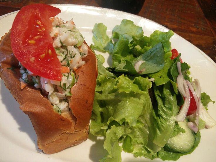 Shrimp roll, Farmhouse, Evanston