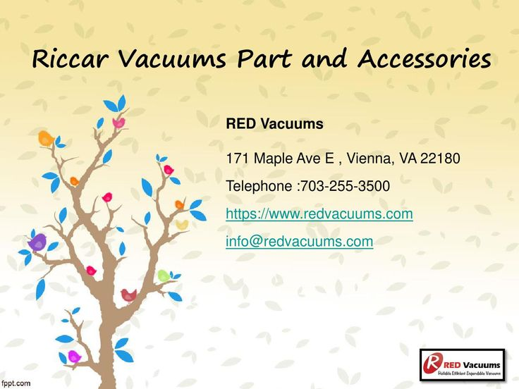 Riccar Vacuums Part and Accessories>>  The accessories of a particular…