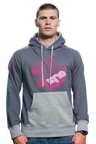 Mens Copa del Mundo Hooded Sweater // Dark Grey,Imported