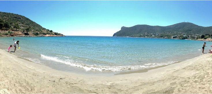 La plage d'Avlaki à Porto Rafti (Avlaki Beach) est située à environ 40km d'Athènes. Elle est réputée pour ses eaux cristallines et son sable fin