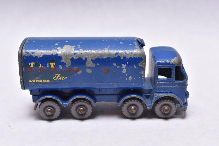 Matchbox Lesney No. 10 Foden Sugar Container Truck Rear Crown  made in England Original Vintage Die Cast Toy Car Collection by RememberWhenToys on Etsy