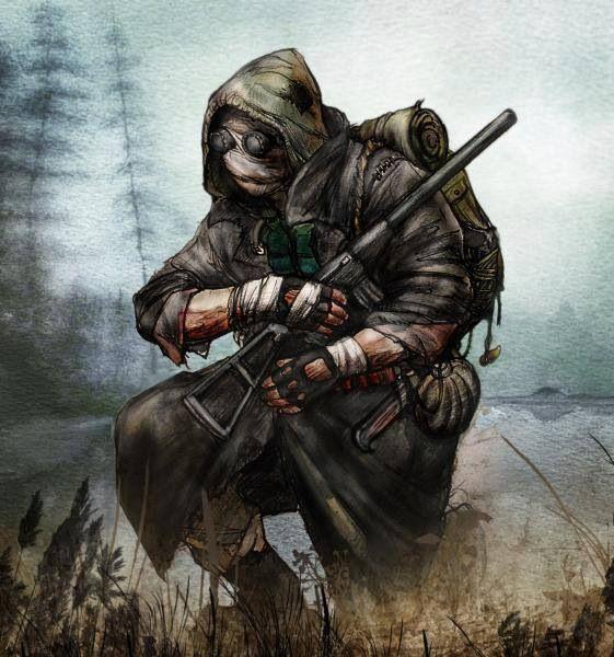 Midoan Terrorist foot-soldier of Distance