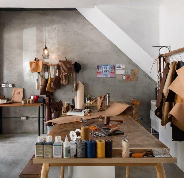 25+ Best Ideas About Leather Workshop On Pinterest