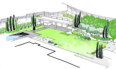 dibujo jardines diseño 05