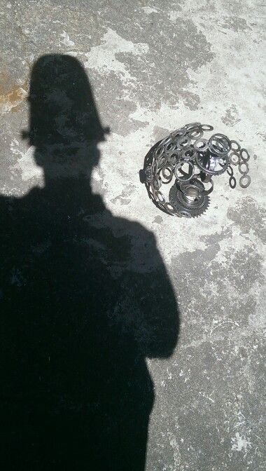Shadow of Myself with Metallic Ornament!