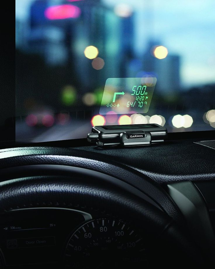10 Unexpected, High-Tech Gifts For Him » Garmin Dashboard Windshield Projector