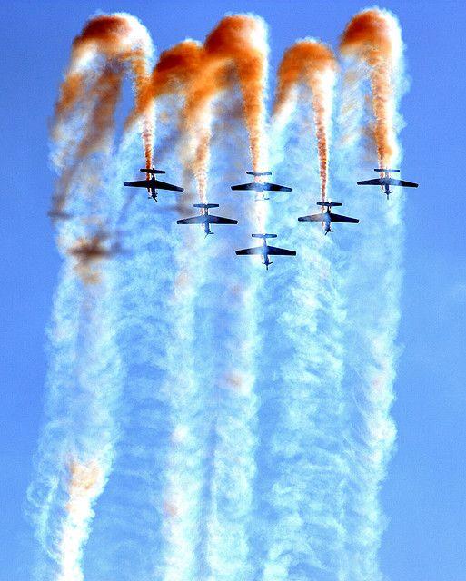 Smoke Squadron, the Brazilian Air Force Air Demonstration Team
