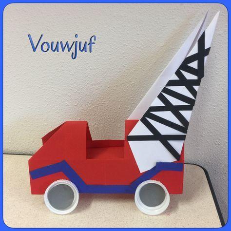 Auto Pluk van de Petteflat vouwen #kinderboekenweek