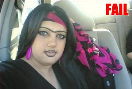 Oh come on...seriously?? 14 Hilarious Eyebrow Fails - Oddee.com (eyebrow, hilarious fails)