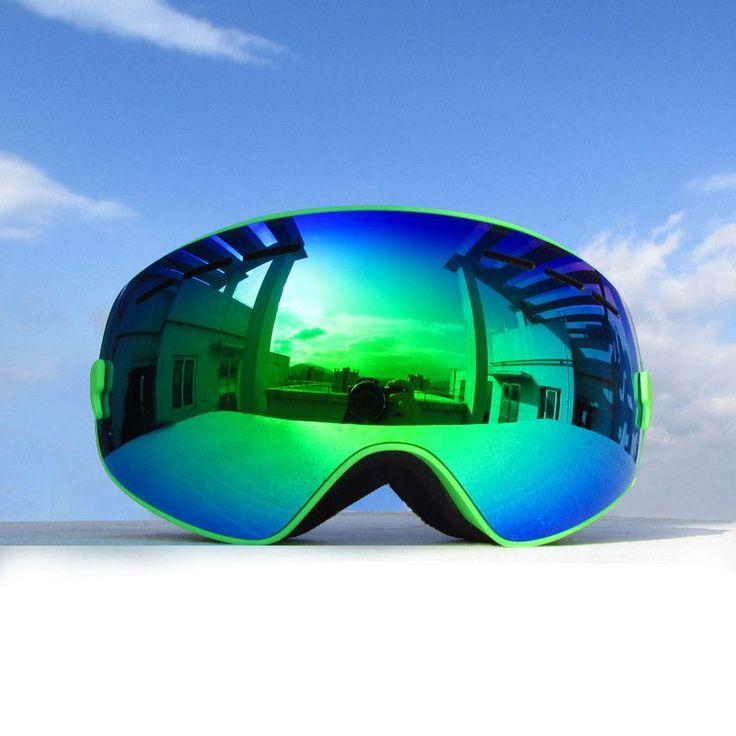 Kids Ski Goggles Snow Snowboarding Glasses Snow/UV- Protection Multi-Color/ Double Anti-fog Lens Snowboard Ski Goggle 4300A