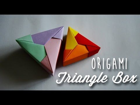 @ Make An Origami Box F (Outer Box) (Boxes within Box) - YouTube