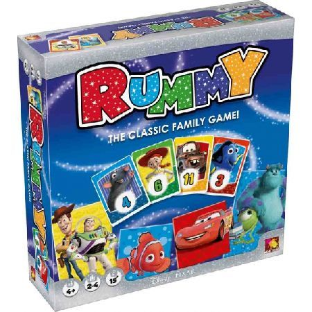 DISNEY Rummy Play with Buzz Woody Lightning McQueen Remy Nemo and all their friends! Disney Rummy contains two ways to play! The Discovery game helps children learn the basics whilst the Family game gives you  http://www.MightGet.com/march-2017-2/disney-rummy.asp