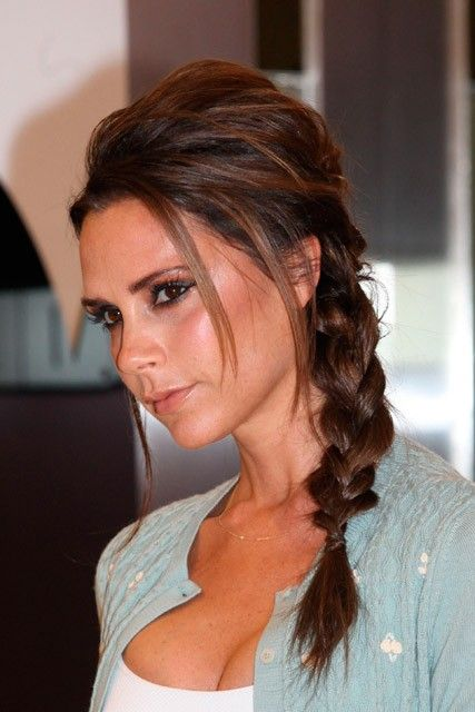 Re-create Victoria Beckhams hairstyle with Balmain Hair Extensions. B-Loved by Balmain Hair gives you Instant Volume at the crown. Easy clip on system means you can use again and again!