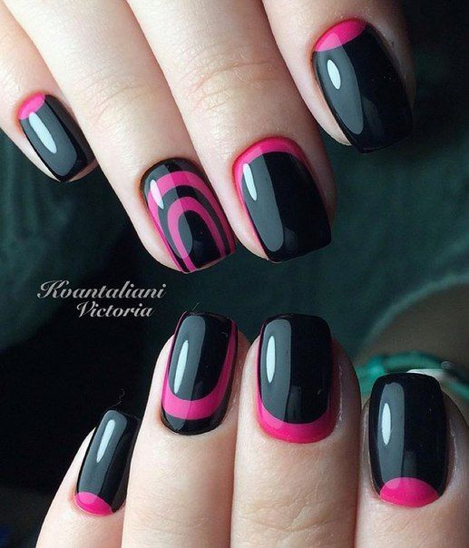 Nail Polish Games For Girls Do Your Own Nail Art Designs: 25+ Best Ideas About Reverse French Manicure On Pinterest