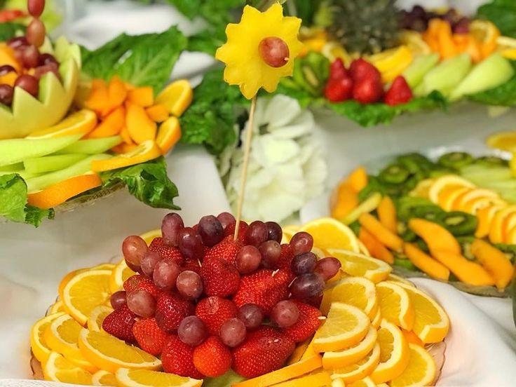 Detailed fruit platter fruit display fruit platter fruit